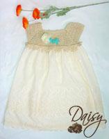 Платье Льняная роза